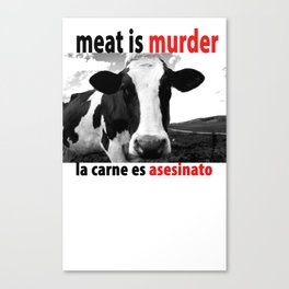 Meat Canvas Print