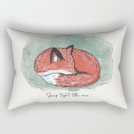 Fox cub Rectangular Pillow