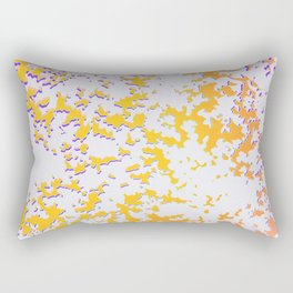 camouflage texture in yellow Rectangular Pillow