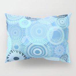 Kooky Kaleidoscope Pretty Blues Pillow Sham