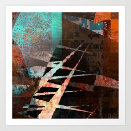 broken path Art Print
