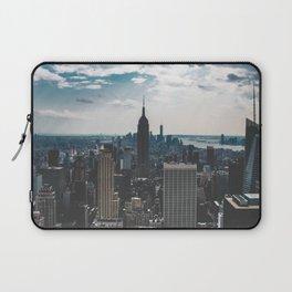 NEW YORK - CITY MANHATTAN - EMPIRE STATE BUILDING - PHOTOGRAPHY Laptop Sleeve