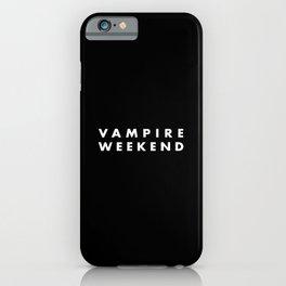 Vampire Weekend iPhone Case