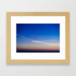 Sunset_1 Framed Art Print