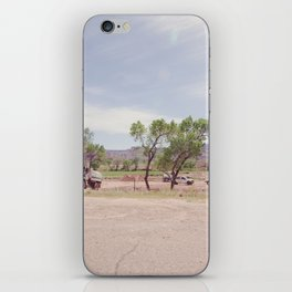 Truck and Helicopters iPhone Skin
