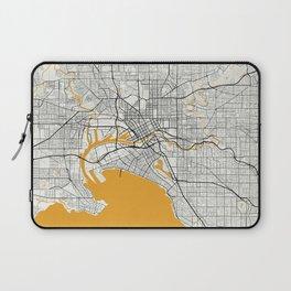 Melbourne map Laptop Sleeve