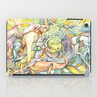 insect iPad Cases featuring Compositions insect by Maethawee Chiraphong