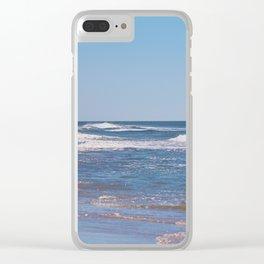 Summer At Topsail Beach Clear iPhone Case
