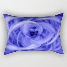 Blue Flames Rectangular Pillow