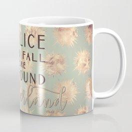 Alice Found Wonderland Coffee Mug
