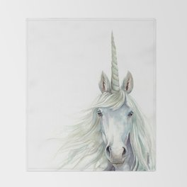 Unicorn Watercolor Decke