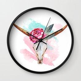 Animal Skull 05 Wall Clock