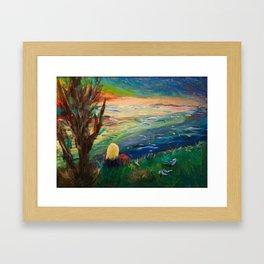 Lake Landscape Framed Art Print