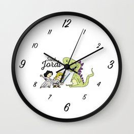 Sant Jordi knight Wall Clock