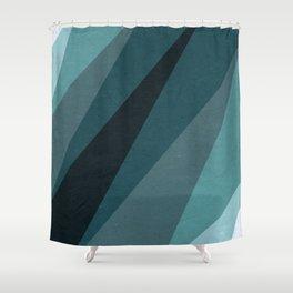 Six Shades of Sea Shower Curtain