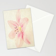 Flower On a Canvas  Stationery Cards