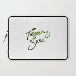 Tegan and Sara handwriting Laptop Sleeve