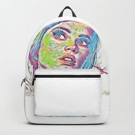 Felicity Jones (Creative Illustration Art) Backpack