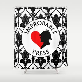 Improbable Press Shower Curtain