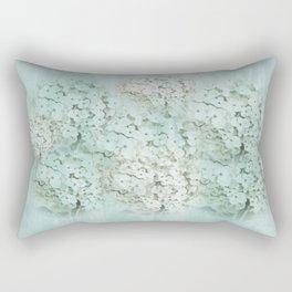 SHADY HYDRANGEAS Rectangular Pillow