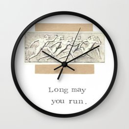 Long May You Run Wall Clock