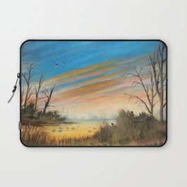 Evening Duck Hunters Laptop Sleeve