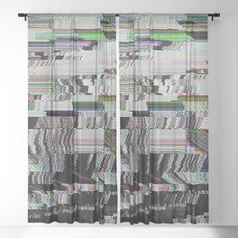 futures Sheer Curtain