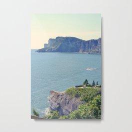 Parc National Forillon (Gaspésie, Québec, Canada) Metal Print