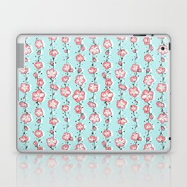 Watermelon Rose Wildflower Laptop & iPad Skin