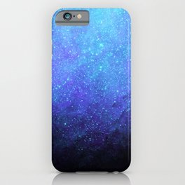 Blue Heavens: Vibrant Starfield iPhone Case