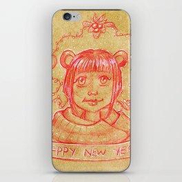 New Years Riri iPhone Skin