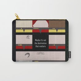 Maybe it's not the Destination that matters - square - Star Trek: Voyager VOY  trektangle minimalist Carry-All Pouch