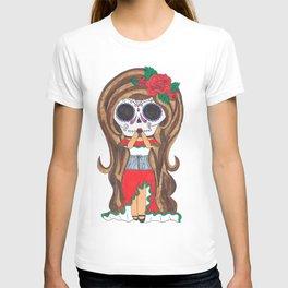 Sugar Skull Girl T-shirt