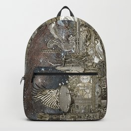 Steampunk Space Transport Backpack