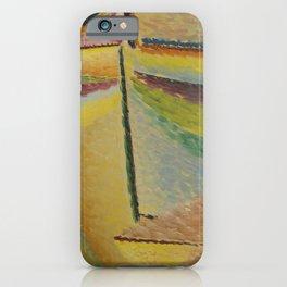 abstrakter kopf der schutzengel iPhone Case