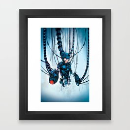 Would you Like to Restart? Framed Art Print