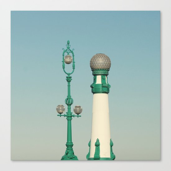 Kursaal Bridge No.2 Canvas Print