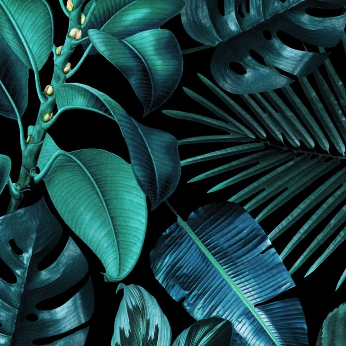 Tropical Garden Leggings