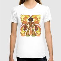 70s T-shirts featuring '70s Robot by Jim Nelson