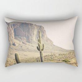 Superstitious Mountain Rectangular Pillow
