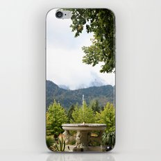 Fountain in the Mountains iPhone & iPod Skin