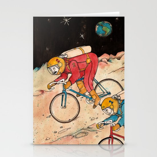 Lunar Keirin Stationery Cards