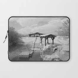 Where Jesus was Baptized Laptop Sleeve