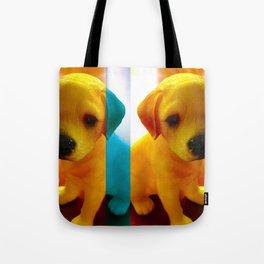 Pup Blues Tote Bag