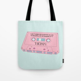 Cassete Tape Tote Bag