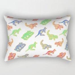 Beautiful Native Australian Animal Print Rectangular Pillow