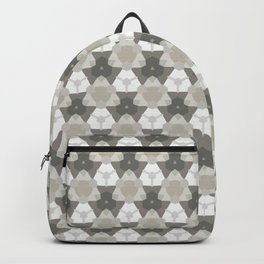 Gray Triangles Backpack