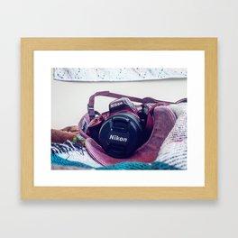 Nikon Lover Framed Art Print