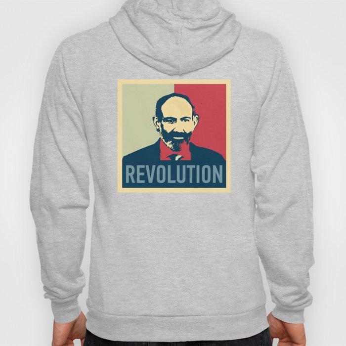 Duxov. Nikol Pashinyan. Armenian revolution. #society6 #decor #buyart #artprint Hoody