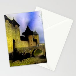 Walls of Carcassonne Stationery Cards